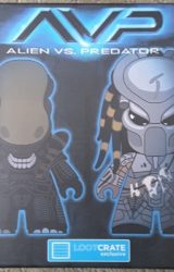 AVP Alien vs Predator 4.5 Vinyl Fig Blind Box LootCrate 2016