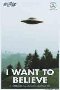 I WANT TO BELIEVE UFO