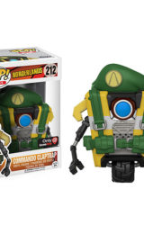 POP BORDERLANDS COMMANDO THINK GEEK EXCL