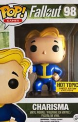 POP FALLOUT CHARISMA HT EXCL VINYL FIG