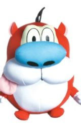 NICKELODEON SUPER DEFORMED PLUSH STIMPY