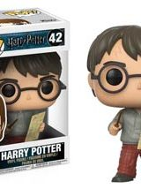 POP HARRY POTTER SERIES 4 HARRY W/ MARAUDERS MAP VINYL FIG