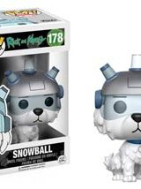 POP ANIMATION RICK MORTY SNOWBALL VINYL FIG