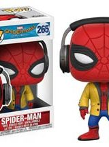 POP SPIDER-MAN HOMECOMING SPIDER-MAN HEADPHONE VINYL FIG