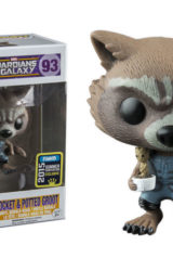 POP GOTG ROCKET AND POTTED GROOT CON EXCL VINYL FIG