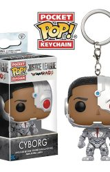 POCKET POP JUSTICE LEAGUE MOVIE CYBORG FIG KEYCHAIN