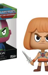 VYNL MOTU HE MAN AND TRAP JAW VINYL FIGURE 2PK