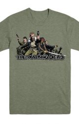 WALKING DEAD 2017 ENSEMBLE MED TSHIRT