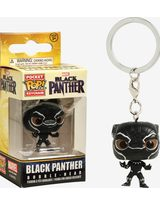 POCKET POP BLACK PANTHER BLACK PANTHER FIG KEYCHAIN