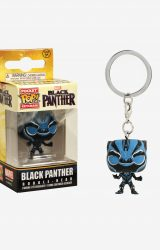 POCKET POP BLACK PANTHER BLACK PANTHER GLOW FIG KEYCHAIN
