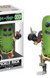 POP RICK AND MORTY PICKLE RICK VIN FIG