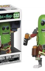 POP RICK AND MORTY PICKLE RICK WITH LASER VIN FIG