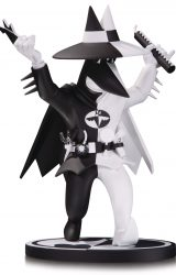 BATMAN BLACK AND WHITE BATMAN SPY V SPY STATUE BY KUPER