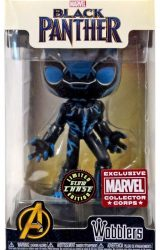 FUNKO MARVEL BLACK PANTHER WOBBLER CHASE ED COLLECTORS CORPS