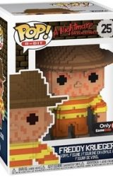 POP 8Bit Horror Vinyl Figures NES Colored Excl Freddy Krueger