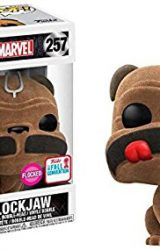 MARVEL INHUMANS POP LOCKJAW FLOCKED VINYL BOBBLE-HEAD 2017 FALL CONVENTION EXCL