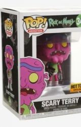 RICK AND MORTY POP ANIMATION SCARY TERRY VINYL FIGURE HT EXCLUSIVE
