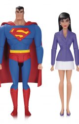 SUPERMAN ANIMATED SER SUPERMAN AND LOIS LANE AF 2 PK