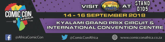 Comic Con Africa Stall D105