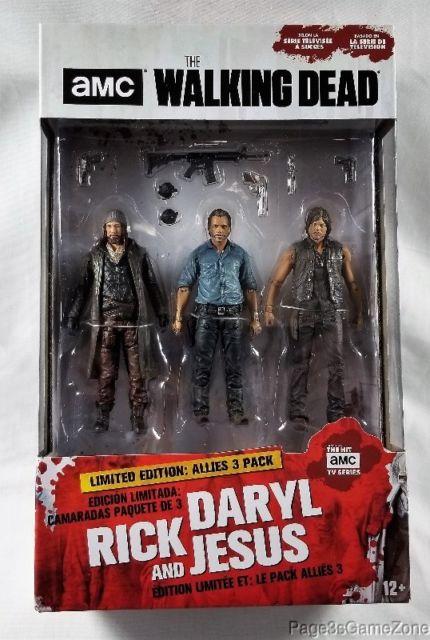 """The Walking Dead-alliés DELUXE BOX SET 5/"""" Action Figures"""